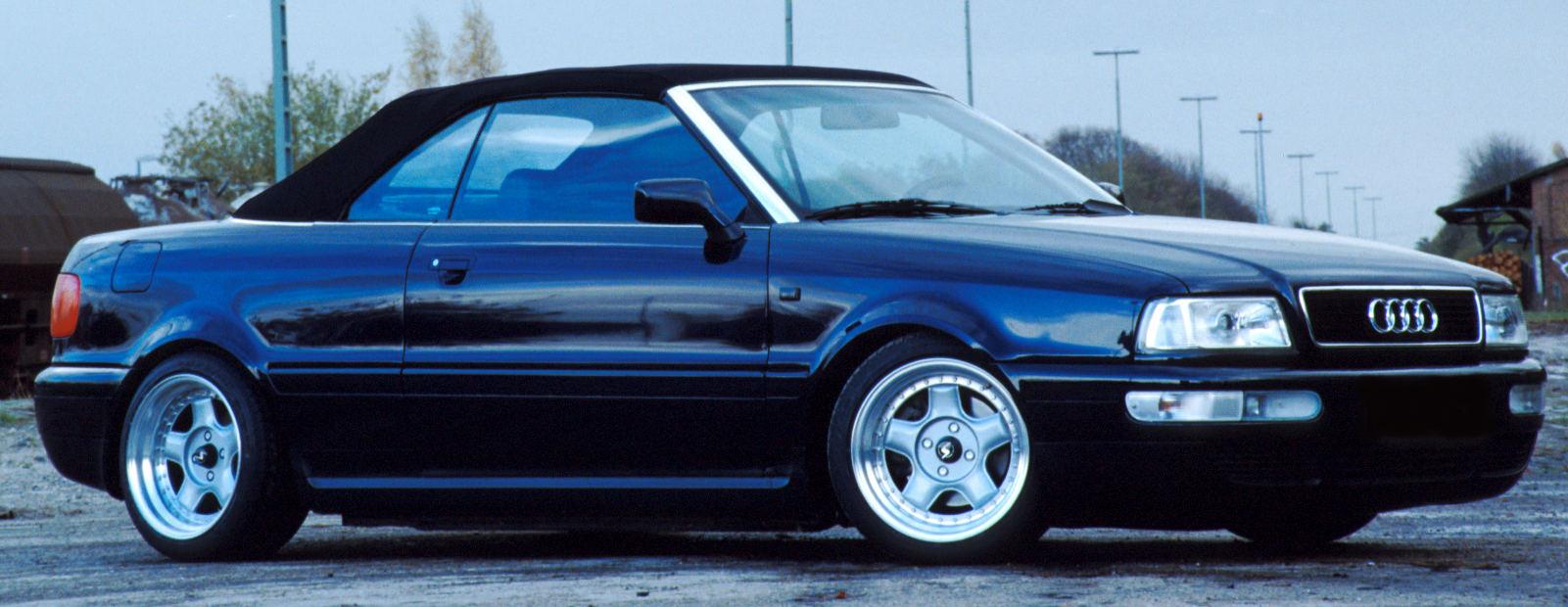 Audi Cabrio side